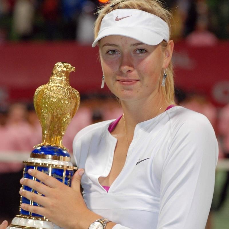 Tennis star Maria Sharapova (Picture 1)