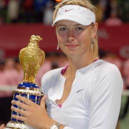 Tennis star Maria Sharapova picture
