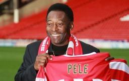 Famous football player Pelé picture