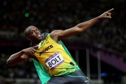 100m world record holder, Usain Bolt (Picture 4)