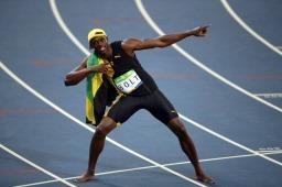 100m world record holder, Usain Bolt (Picture 7)