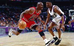 Basketball star Michael Jordan