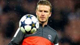 Football player David Beckham picture
