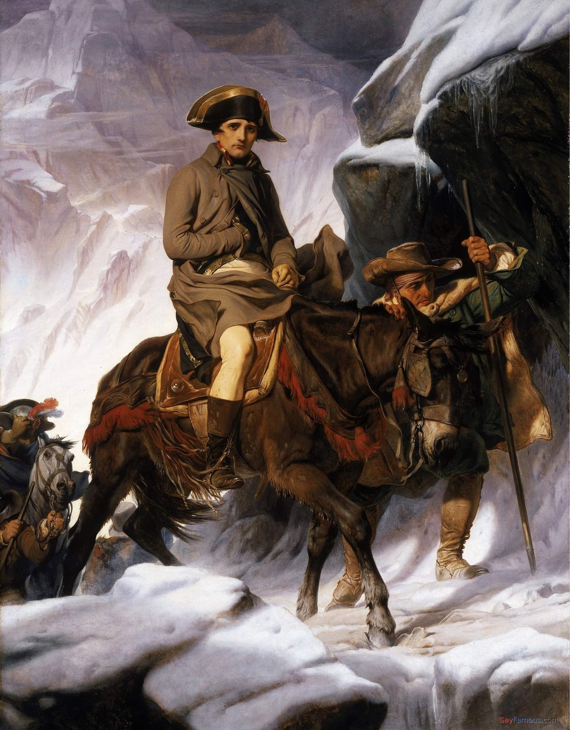 French God Of War Napoleon Bonaparte Hd Desktop Wallpaper 4